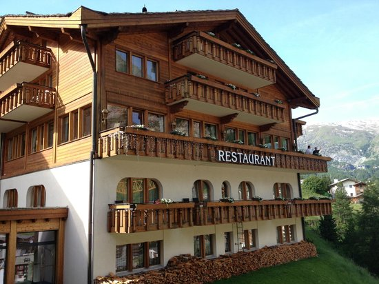 Chalet Hotel Schoenegg: Aussicht