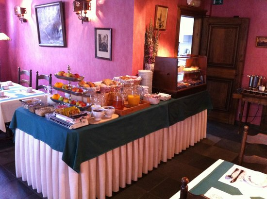 Bryghia Hotel: Breakfast is ready