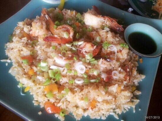 Botanica Guest House: Shrimp fried rice