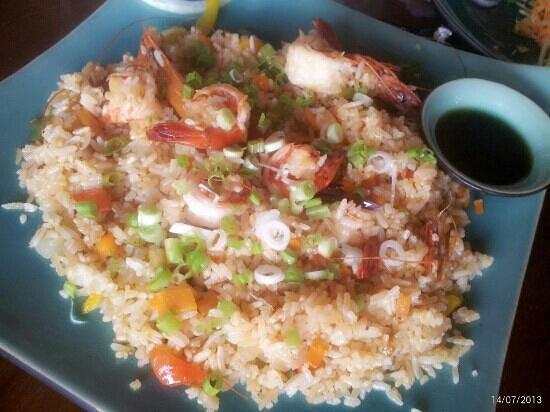 Botanica Guest House : Shrimp fried rice