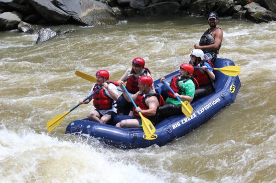 Big Creek Expeditions: Best Rafting Trip EVER!