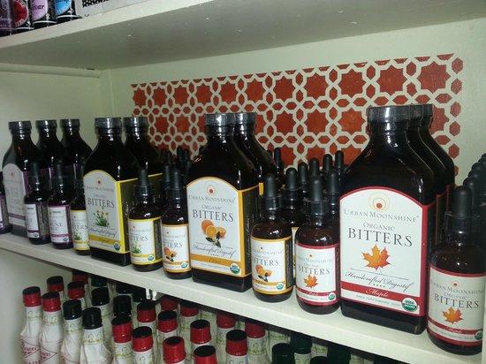 Vena's Fizz House : full line of organic/herbal bitters
