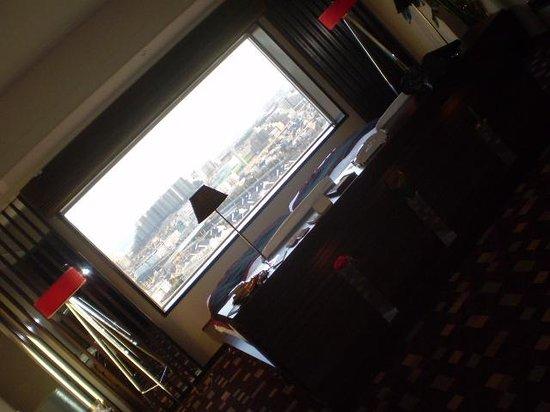 Urayasu Brighton Hotel: 大きな窓