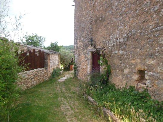 Auberge de Loubion: Passage