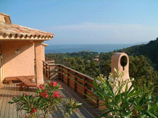 Les Terrasses de Scalegiu: Terrasse
