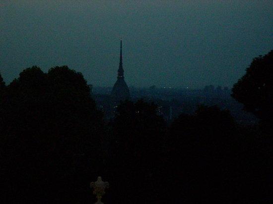 Villa della Regina: Torino by night dalla villa