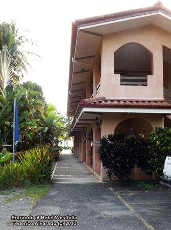 Hotel Playa Westfalia : Entrada del hotel
