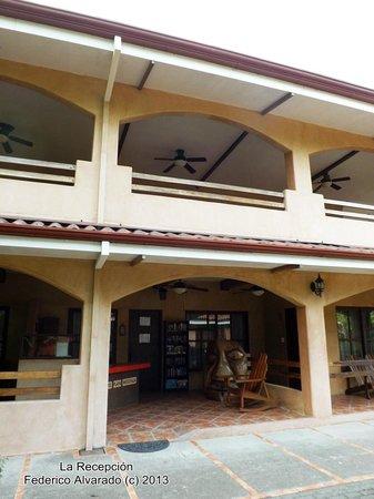 Hotel Playa Westfalia : Recepción