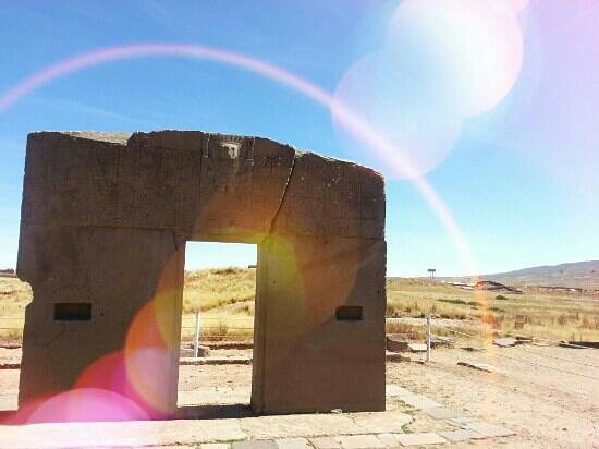 Bolivia: Puerta del sol