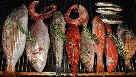 Restaurant Pez Colorao : Peix a la brasa