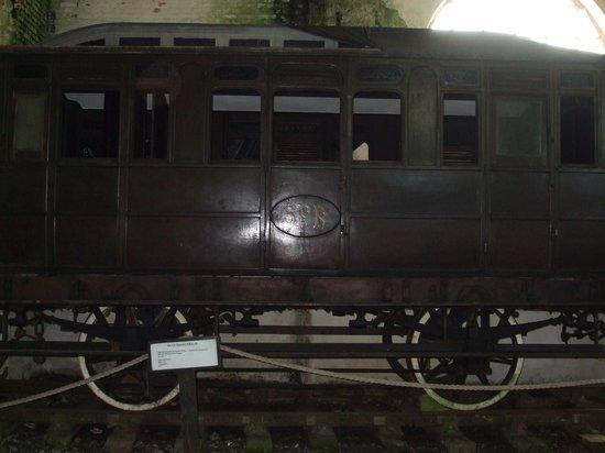 Paranapiacaba, SP: Trens antigos