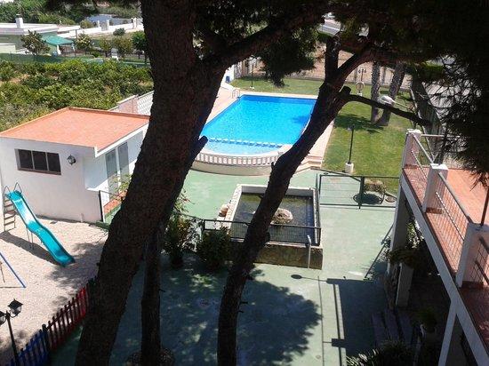 Benicarlo, Ισπανία: desde nuestra ventana.