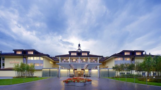 Hotel Hof Weissbad : Eingang