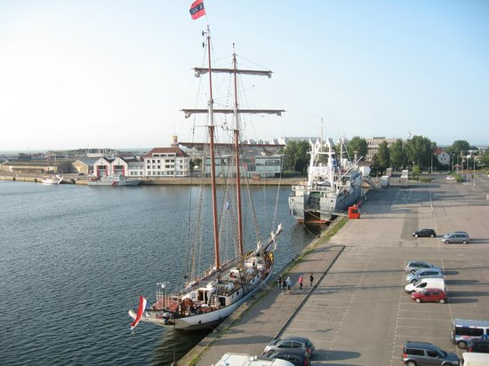 All Suites Appart Hotel Dunkerque : vue depuis notre chambre