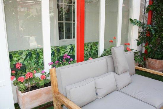 Praktik Garden: terraza.