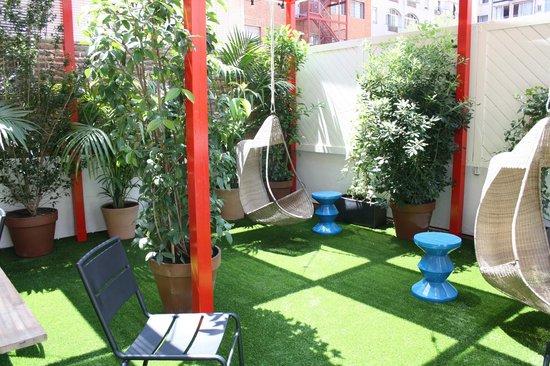 Praktik Garden: terraza