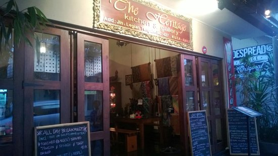 The Heritage Kitchen and Gallery: Authentic Indonesian Food in a Home atmosphere