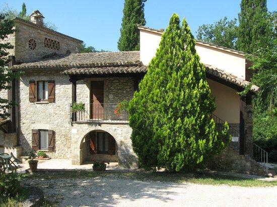 Le Querce di Assisi: la struttura
