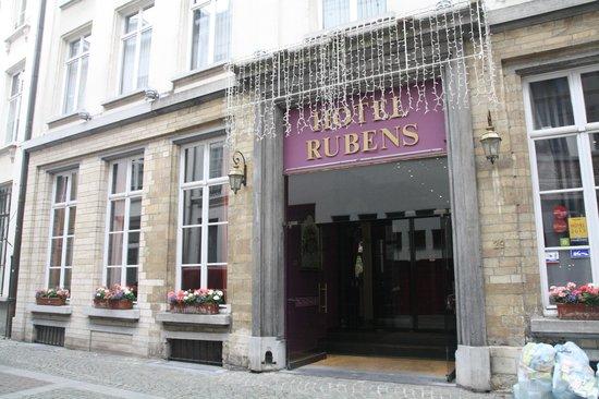 Hotel Rubens - Grote Markt : Entrada