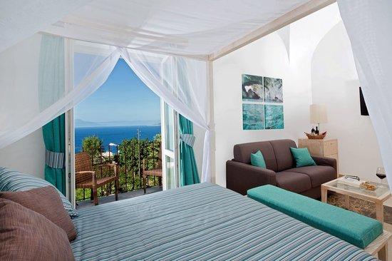 Capri Wine Hotel: Junior Suite