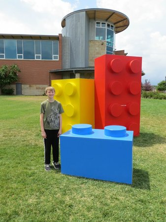 Longmont Museum & Cultural Center: Giant LEGOs