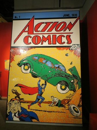 Longmont Museum & Cultural Center: LEGO comic book cover