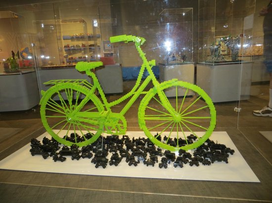 Longmont Museum & Cultural Center: LEGO bicycle