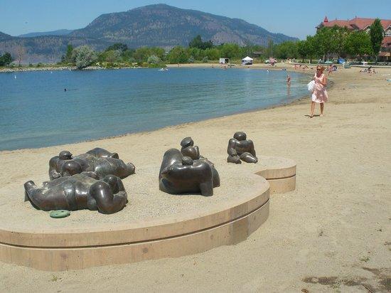 Geert Maas Sculpture Gardens Gallery and Studio: Beach