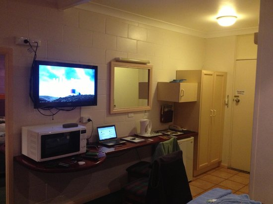 Glen Innes Motel: Good quality TV, NO AUSTAR!!