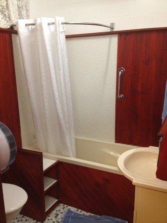 Glen Innes Motel: Shower