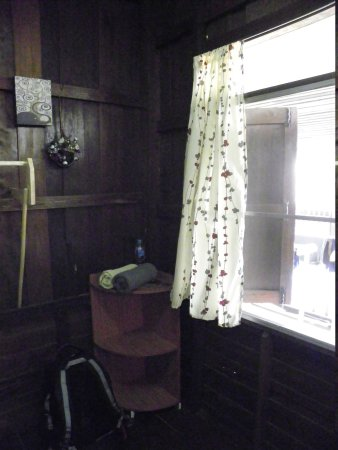 Aoi Garden Home: View at the backside of room in Aoi Backpackers