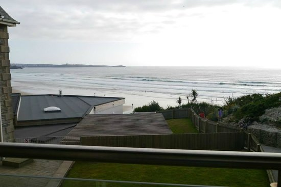 Watergate Bay Hotel: View from our lovely room