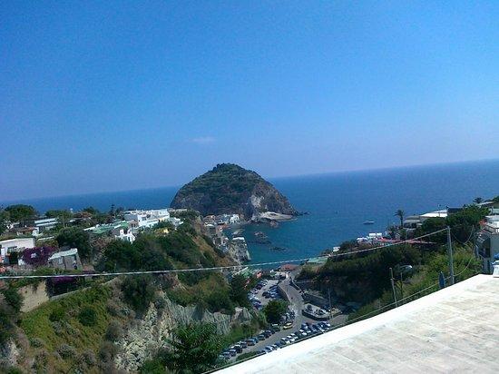 Park Hotel & Terme Romantica: Sant'Angelo dal balcone della nostra camera