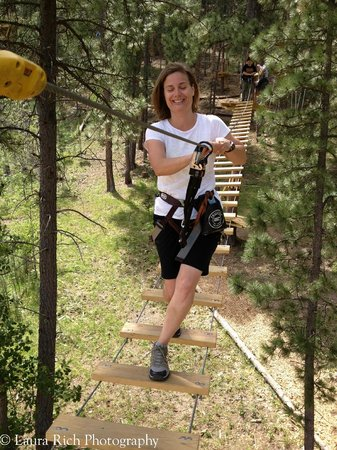 Rushmore Tramway Adventures : obstacle