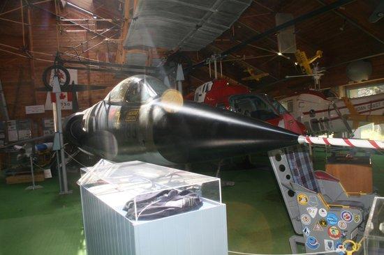 Atlantic Canada Aviation Museum,: Lockheed CF-104 Starighter