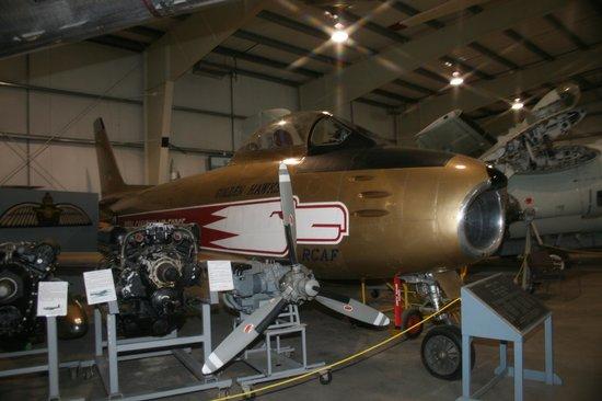 "Atlantic Canada Aviation Museum,: Authentic ""Golden Hawks"" Canadair Sabre"
