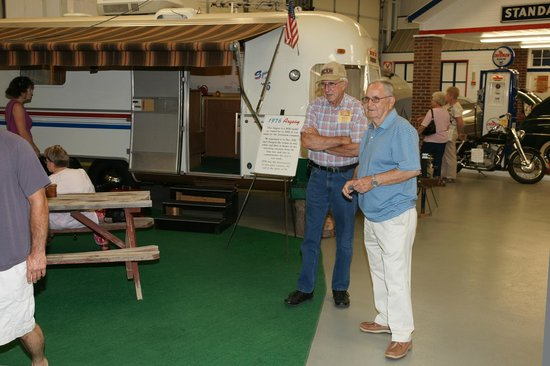 Jack Sisemore Traveland RV Museum: One of the many campers in the museum