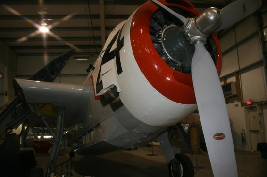 Atlantic Canada Aviation Museum,: Grumman TBF Avenger used for firefighting and spraying