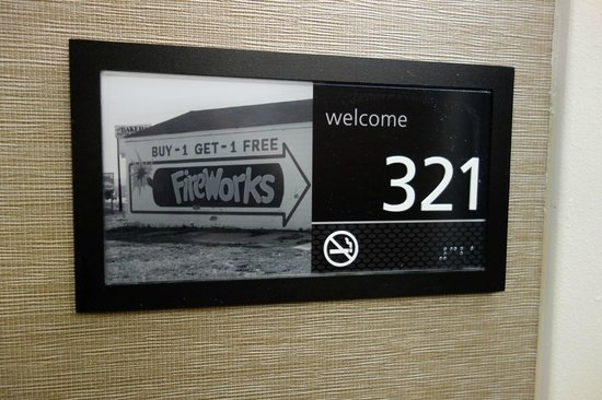 Hampton Inn Frederick: Room Numbers
