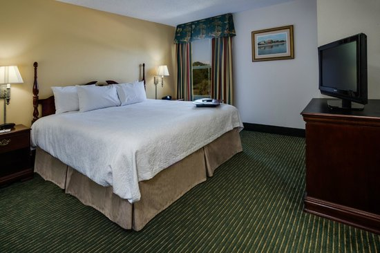Hampton Inn Pawleys Island - Litchfield : King Suite Bedroom