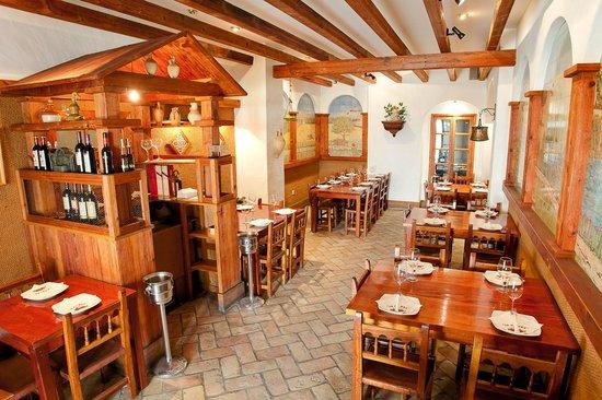 Restaurante La Piedra: salon reservado