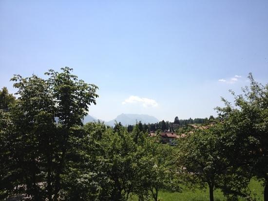 Gastehaus Angerer: Ausblick Balkon Richtung Zahmer Kaiser