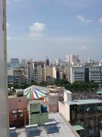 Le Duy Hotel: Blick aus der 10. Etage