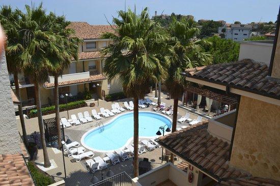 Residence Tortorella Inn Resort : Panorama dalla camera