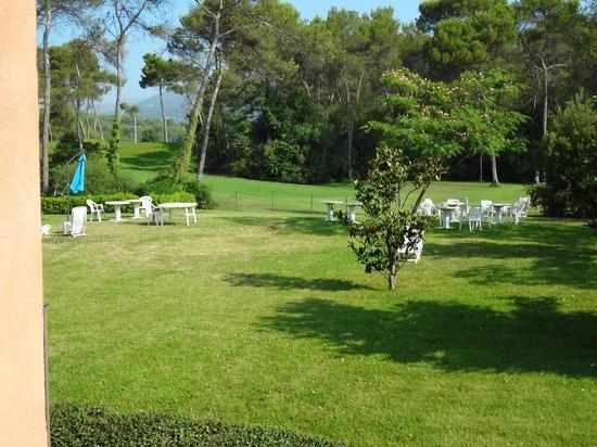 Adonis Mouans Sartoux : Vue du golf