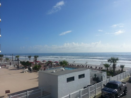 Sea Shells Beach Club: our view
