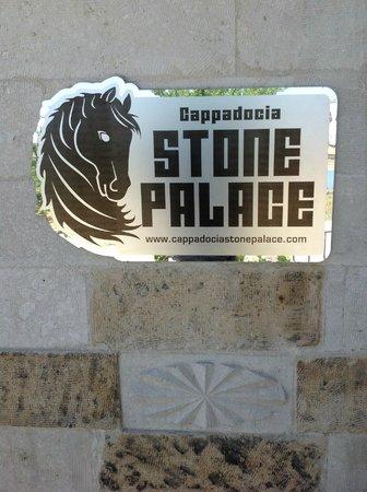 Cappadocia Stone Palace: Hotel Eingang