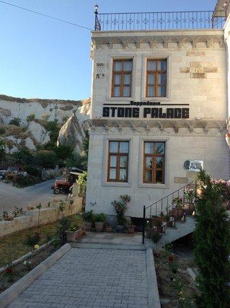 Cappadocia Stone Palace: Aussicht auf das Hotel