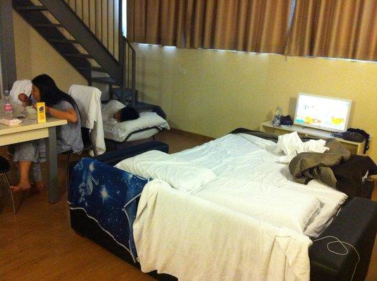 Aparthotel Citta Studi : First floor bedroom