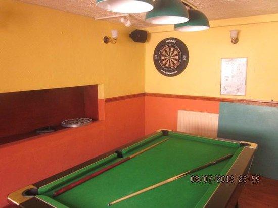 The Kilrane Inn Pub and Restaurant: games room